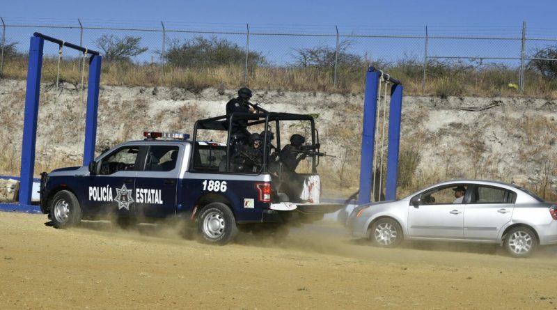 """Sicarios del CDG """"levantan"""" a grupo de adiestramiento en tiro policial en Tampico"""