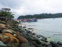 Melihat Indah Pulau Sempu Dari Pantai Sendang Biru Malang