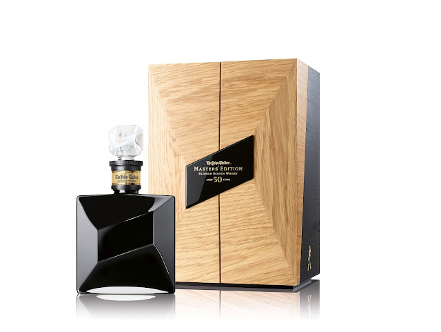 John Walker Master's Edition whisky decanter and box
