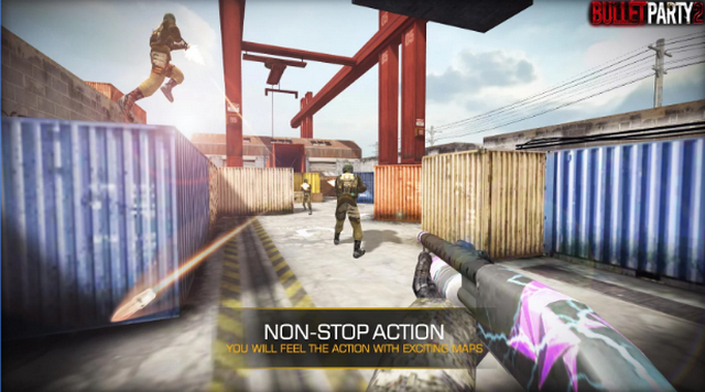 Best FPS Shooting Games for Android apk Free Download Bullet Party CS 2