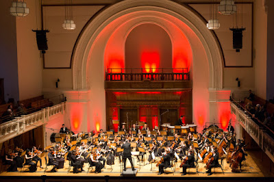 Wissam Boustany & the Pro Youth Philharmonia at Cadogan Hall in 2018