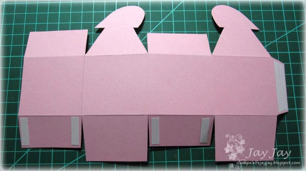 stempeleinmaleins box mit herzverschluss heart topped box. Black Bedroom Furniture Sets. Home Design Ideas