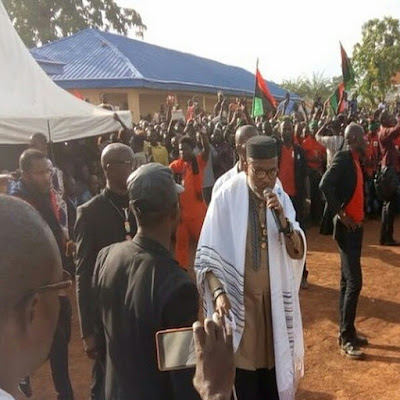 Igbos be warned! Nigerian Military has declares IPOB a terrorist group