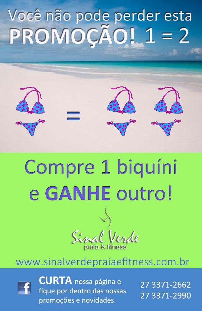 8e629f5b8 Blog da Sinal Verde  PROMOÇÃO IMPERDÍVEL! 1 2 Compre 1 biquini e ...