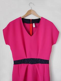créatrice créateur vetements ékicé robe rose printemps tissu japonais japonisant slowmade