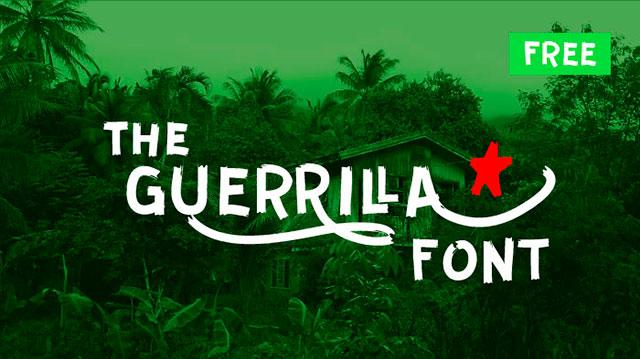 Guerrilla_Free_Font