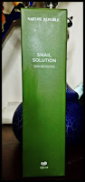 [Nature republic] Snail solution skin booster - recenzja