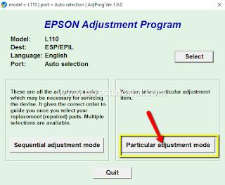 Cara cepat Mengatasi Error Printer Epson L110, L201, L300, L355