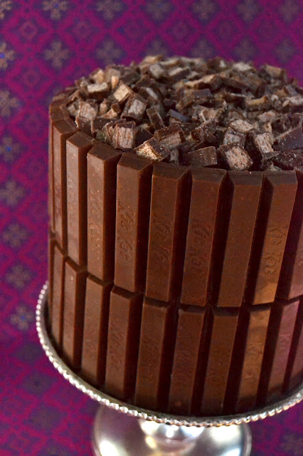 The Ultimate Kit Kat Birthday Cake