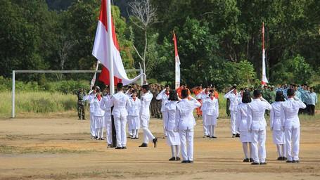 17 Agustus 2016, Ketika Merah Putih Pertama Berkibar di Pulau Karimata