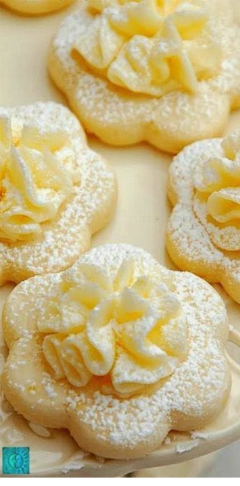 Lemon Meltaways Cookies