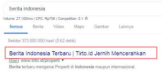 contoh title tag website detiknews