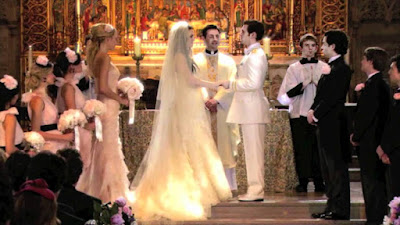 Gossip Girl Blair & Prince Louis wedding