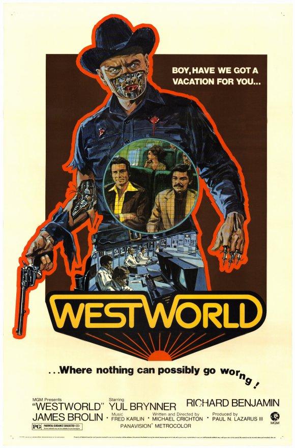 świat dzikiego zachodu film 1973 recenzja brolin brynner