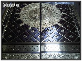 pintu+kaligrafi+kuningan+tembaga