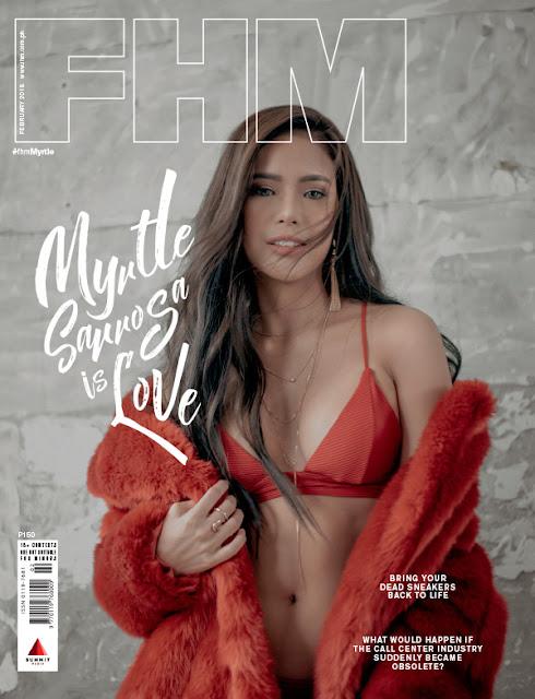 Myrtle Sarrosa FHM February 2018