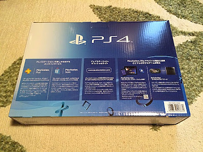 PS4外箱裏