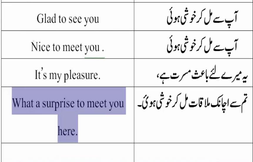 my meaning in urdu