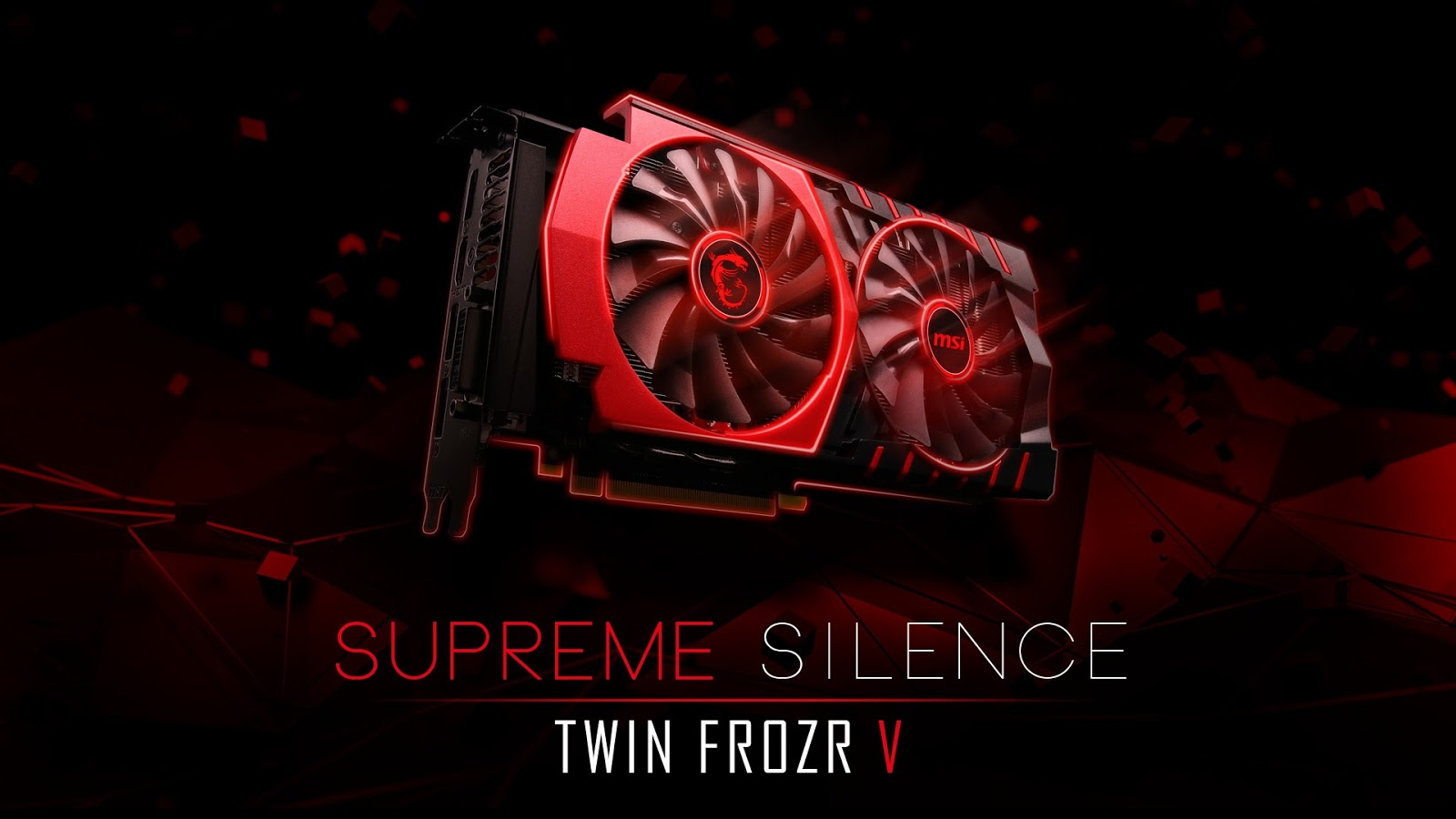 Okak Msi Twin Frozr Wallpaper Without Msi Logo On Sides Or