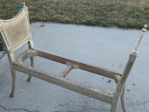 Antique Bench Makeover - Wicker House