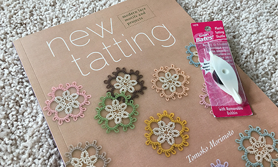 New Tatting Book by Tomoko Morimoto and Shuttle