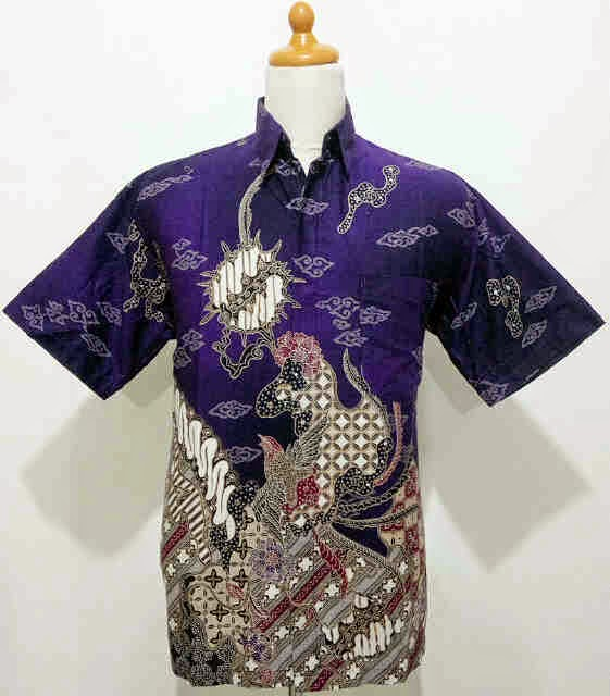 Gambar Baju Batik Kantor Pria: Foto Gambar Model Baju Batik Pria Elegan Branded Harga
