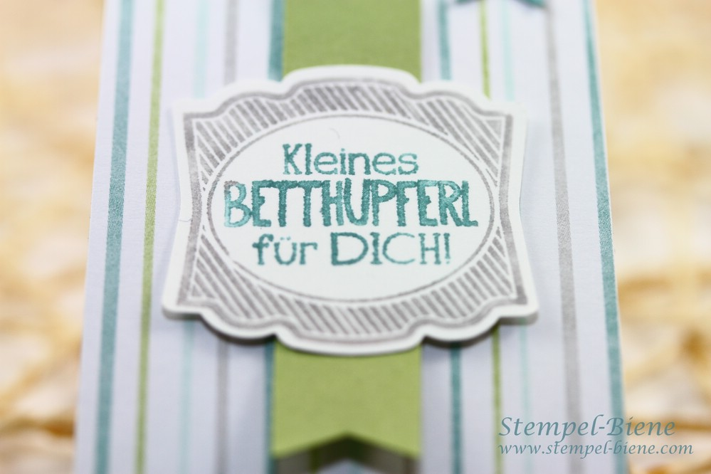 Stampin Up Betthupferl, Stampin Up Schokoladenverpackung, Stampin Up Stanze gewellter Anhännger, Stampin Up convention 2014, Stampin Up Artikel bestellen