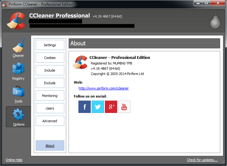 ccleaner professional plus + keys ~ Download 2017