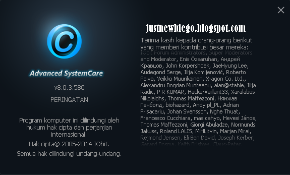 Advanced SystemCare Pro v8.0.3.5380 update terbaru