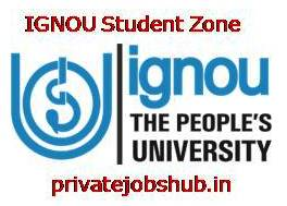 IGNOU Student Zone