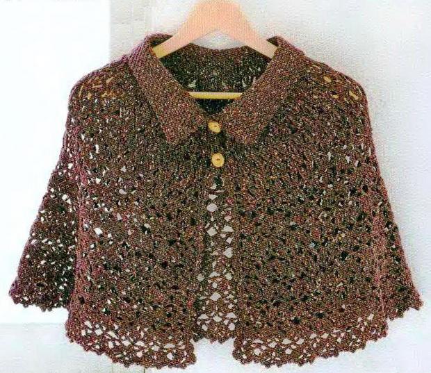 Crochet Shawls: Crochet Cape Pattern Free For Women ...