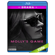 Molly's Game (2017) BRRip 720p Audio Dual Latino-Ingles