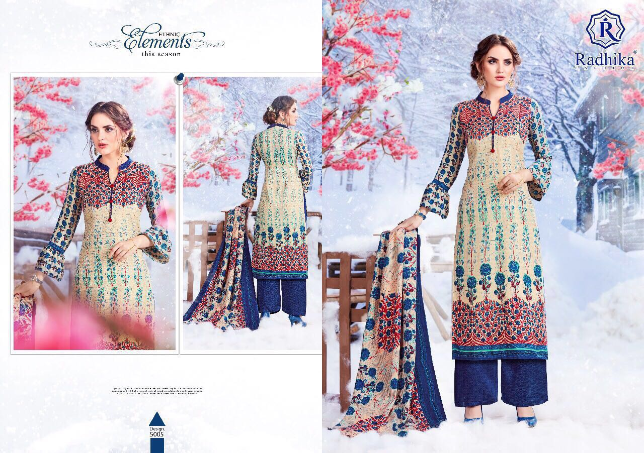 Sumyra vol -7-New Arrival Pashmina Dress Material