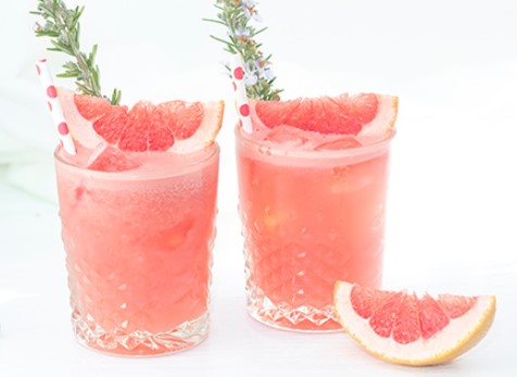 ROSEMARY, GRAPEFRUIT & GIN COCKTAIL RECIPES