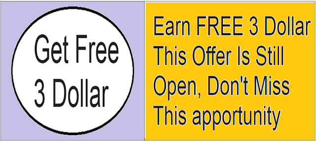 Earn FREE $ 3