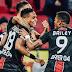 """Autor de gol em goleada do Leverkusen, Wendell lamenta tragédia no Fla: """"Dia muito triste"""""""