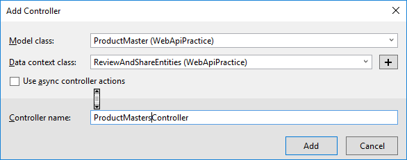 Web API crud operation using JQuery