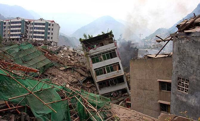 7-es erősségű földrengés Kínában