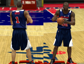 NBA 2K13 Wizards Real Away Practice Jersey Mod