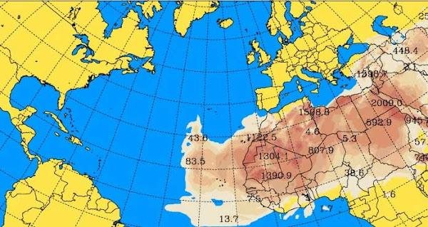 Cesa la lluvia en Canarias y llega la calima