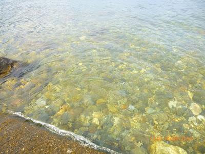 klares Wasser im Lago Maggiore