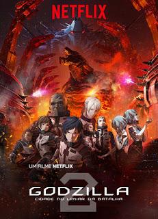 Godzilla: Cidade No Limiar da Batalha - HDRip Dual Áudio