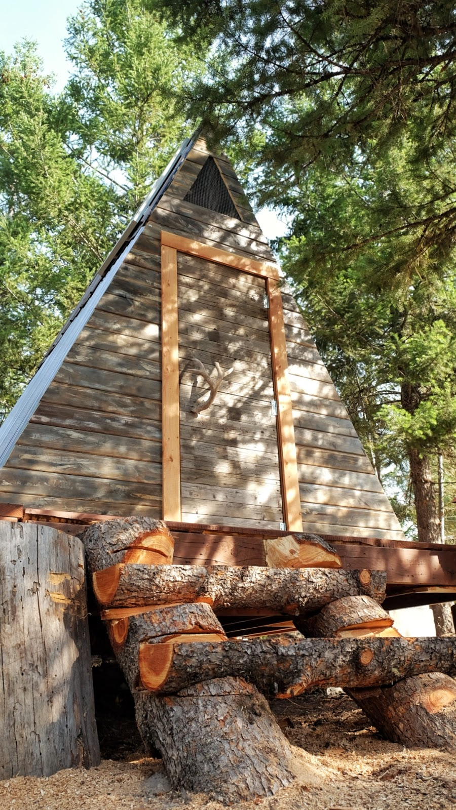Tiny house town a frame cabin that cost just 700 to build for Cost to build small cottage