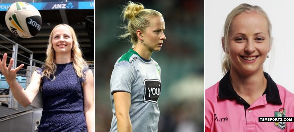 Belinda Seeman First women referee in NRL League