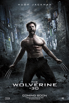 The Wolverine in 3D Teaser One Sheet Movie Poster - Hugh Jackman as Wolverine