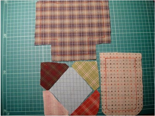 Patchwork and Quilted Small Backpack. DIY. Tutorial with Photos.