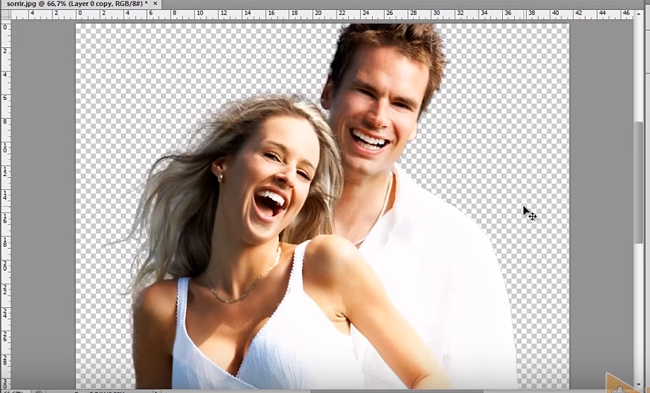 Como remover o fundo de uma imagem no photoshop