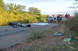 Jovem morre e mãe fica gravemente ferida em acidente no interior na Paraíba