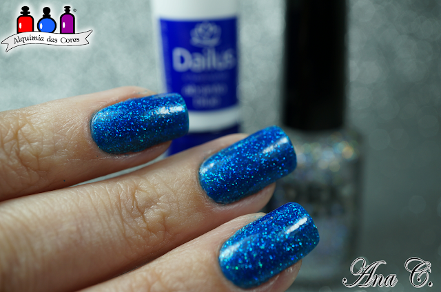 Dailus, Absinto Blue, DRK nails, DRK, KN 9