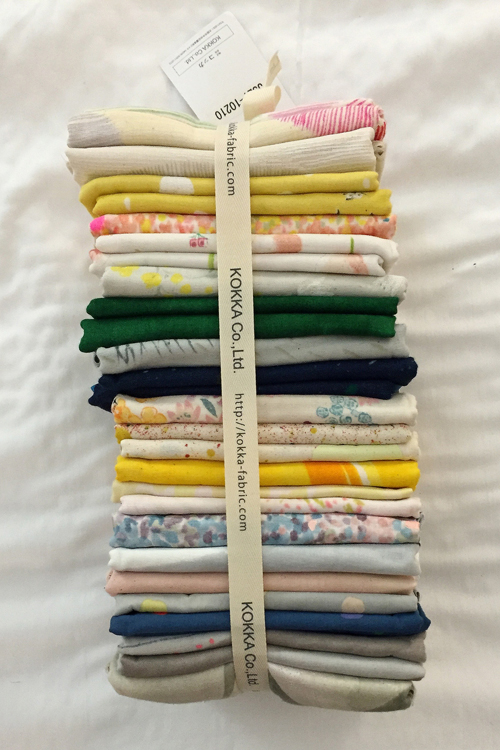 Nani Iro Dreams Quilt - In Color Order